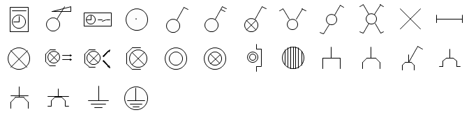 Electrical Symbols Library